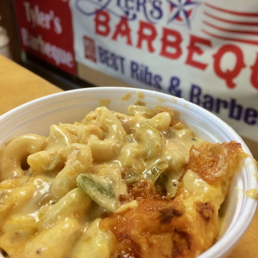 Tyler's BBQ Mac and Cheese